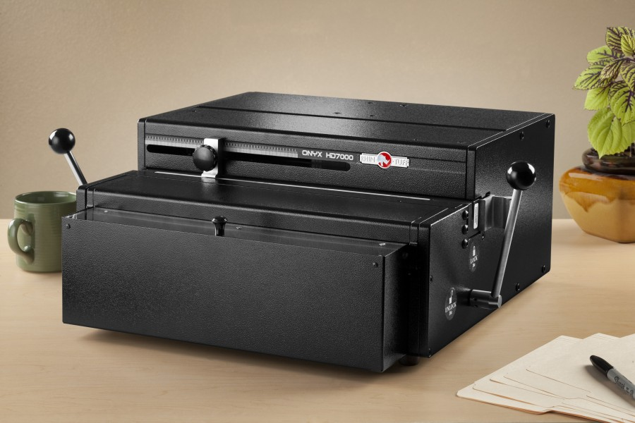 perforateur pour reliure professionnelle Rhin-O-Tuff ONYX HD7000